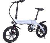 Электровелосипед Hiper Engine BL140 2021 (белый)