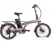 Электровелосипед Hiper Engine BF200 2021 (коричневый)