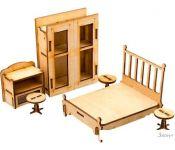 Аксессуары для кукольного домика Теремок Спальня КМ-5