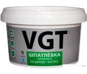 Шпатлевка VGT Экстра по дереву (1 кг, дуб светло-серый)