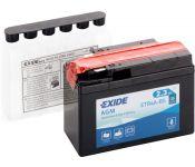Мотоциклетный аккумулятор Exide ETR4A-BS (2.3 А·ч)