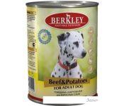 Консервированный корм для собак Berkley говядина с картофелем 400 г