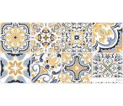 Керамическая плитка Нефрит-Керамика Лорена 400x200 (Голубой) 00-00-5-08-30-61-1484