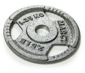 Диск металлический для гантели Atlas Sport HAMMERTONE 1,25 кг (посад. диаметр 30 мм)