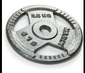 Диск для гантели ATLAS SPORT металл крашеный 2,5кг