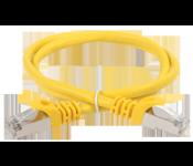 Коммутационный шнур Патч-корд литой Telecom UTP кат.5е 2м желтый