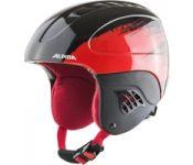 Шлем горнолыжный Alpina Sports 2021-22 Carat / A9035-65 (р-р 51-55, черный/красный)