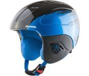 Шлем горнолыжный Alpina Sports 2021-22 Carat / A9035-66 (р-р 54-58, черный/синий)