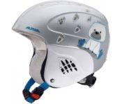 Шлем горнолыжный Alpina Sports Carat / A9035-86 (р-р 48-52, Ice Bear)
