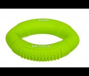 Кистевой эспандер 30 кг, овальной формы, зеленый (Resistance bands 60 LB) SF 0574
