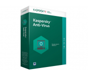 BLR KL11712UBFS KasperskyAnti-Virus 2-Desktop 1 year Base Retail Pack (бел)