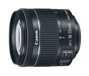 Объектив Canon EF-S IS STM (1620C005) 18-55мм f/4-5.6 черный
