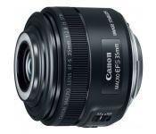 Объектив Canon EF-S IS STM (2220C005) 35мм f/2.8 Macro черный