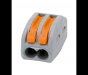 Соединительная клемма  2,5мм2 2провода (100/6000) СК-412