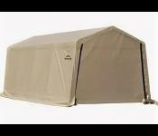 Гараж SHELTERLOGIC 62647  3x6.1x2.4м в коробке 61.1кг скатная крыша песочный тент