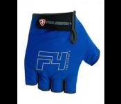 Велоперчатки Polednik F-4 р.12 XXL Blue POL F-4 XXL BLU
