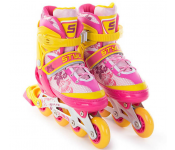 Роликовые коньки Start Up Style р.M 35-38 Pink-Orange 341 505