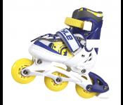 Роликовые коньки Start Up Style р.XS 27-30 Blue-Yellow 341 506