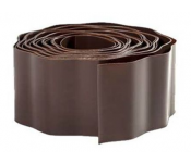 Бордюрная лента Агротема А Б-10/9 10cm x 9m Brown 20822