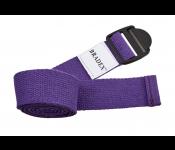 Ремешок для йоги фиолетовый SF 0412
