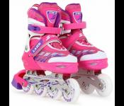 Роликовые коньки Start Up Laser р.L 39-42 Pink 360 344