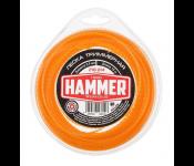 Леска триммерная Hammer 216-814 2.0мм 15м витой квадрат в блистере