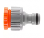 """Штуцер Hammer Flex 236-009  пластиковый с внутренней резьбой , с переходником, 1/2""""-3/4"""""""
