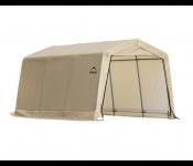Гараж SHELTERLOGIC 62648  3x4.6x2.4м в коробке 49.5кг скатная крыша песочный тент