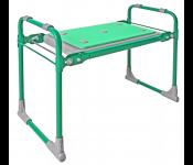 Скамейка садовая с мягким сиденьем НИКА СКМ (СКМ/З зеленый)