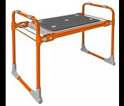 Скамейка садовая с мягким сиденьем НИКА СКМ (СКМ/О оранжевый)