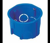 Коробка установочная приборная IP20, 400W, полипропилен, синий 010-033