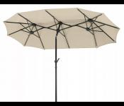 Зонт Terrassenschirm Luna natur 465x270, бежевый