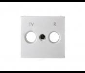 Лицевая панель для розетки TV-R - Valena - белый