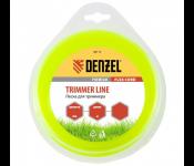 Леска для триммера Denzel Flex Cord 2.4mm x 15m 96108