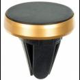 Держатель Wiiix HT-53Vmg-METAL-G магнитный черный/золотистый