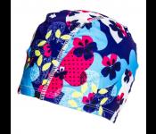 Шапочка для плавания (полиэстер), сине-голубая SF 0311