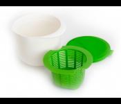 Аппарат для приготовления домашнего творога и сыра «НЕЖНОЕ ЛАКОМСТВО», зеленый TK 0192