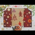 Набор полотенец Bonita Рождественская звезда 3шт