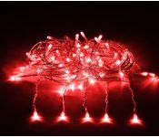 Световой дождь Vegas Занавес 55080 156 LED (красный)