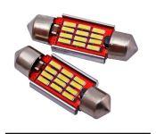 Лампочки  Gofl C5W-12-4014SMD-36mm 2W 2210 (2 штуки ) (307827)