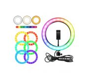 Кольцевая лампа RGB LED STRIP SOFT SING LAMP MJ26 (10 дюймов)