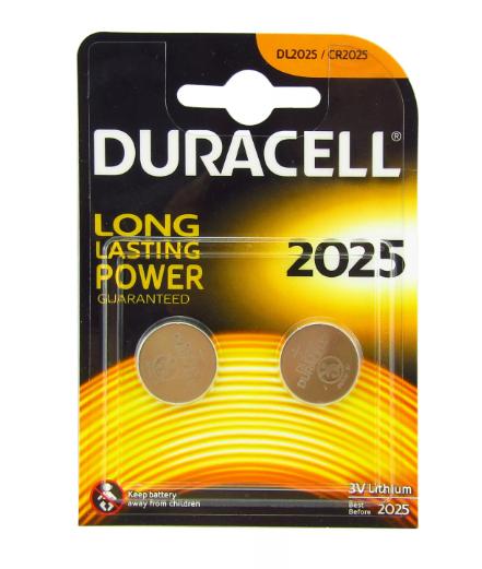 Батарея Duracell Specialty 3V CR2025 (2шт)