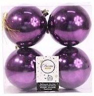 Kaemingk Набор шаров Violet 4шт 958131s