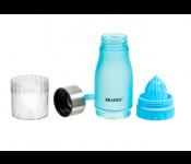 Бутылка для воды с ремешком и соковыжималкой Bradex 600ml Light Blue SF 0521