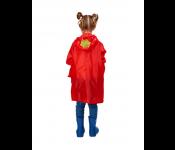 Дождевик КЛУБНИЧКА (children's raincoat) DE 0491