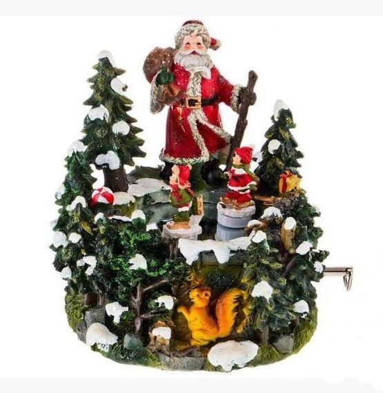 Lefard Дед Мороз 15x13.5x15cm 175-211