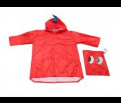 Дождевик ДРАКОН красный, размер М DE 0488