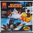 Конструктор BELA Супергерои водный мотоцикл 136 дет. 10225