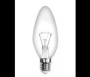 Лампа накаливания 10W E12 220V 110Лм прозрачная В22-10W-E12-CL