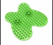 Коврик массажный рефлексологический для ног «РЕЛАКС МИ» зеленый KZ 0451